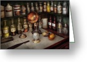 Featured Greeting Cards - Pharmacy - Items from the specialist Greeting Card by Mike Savad