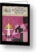 Ecumenical Greeting Cards - Phil Ecumenical Review 1965 b Greeting Card by Glenn Bautista
