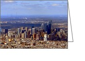 Philly Greeting Cards - Philadelphia Greeting Card by Olivier Le Queinec