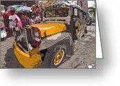 Rolf Bertram Greeting Cards - Philippines 1261 Jeepney Greeting Card by Rolf Bertram