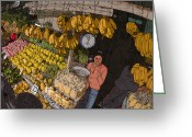Rolf Bertram Greeting Cards - Philippines 3575 Saging Sales Lady Greeting Card by Rolf Bertram