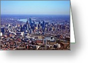 Liberty Place Greeting Cards - Philladelphia 2010 Greeting Card by Duncan Pearson