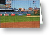 Xfinity Greeting Cards - Phillies Greeting Card by Brynn Ditsche