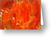 Loose Panicles Greeting Cards - Phoenix Greeting Card by Don  Wright