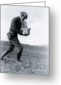 Soldier  Pictures Greeting Cards - Photographer In Germany Greeting Card by Photo Researchers