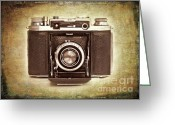 Hinge Greeting Cards - Photographers Nostalgia Greeting Card by Meirion Matthias