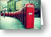 Featured Greeting Cards - #photooftheday #london #british Greeting Card by Ozan Goren