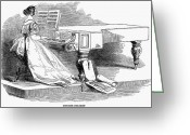 Physiognomy Greeting Cards - Pianist, 1844 Greeting Card by Granger