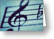 Featured Greeting Cards - Piano ~ Pure Love Greeting Card by Marie-Claude Charron