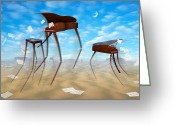 Migration Greeting Cards - Piano Valley Greeting Card by Mike McGlothlen
