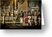 Pubs Greeting Cards - Pick Your Poison Greeting Card by Heather Applegate