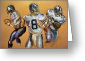 Emmit Smith Greeting Cards - Pick your Poison...The Glory Days Greeting Card by Tommy  Winn