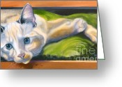 Kitten Greeting Card Greeting Cards - Picture Purrfect Greeting Card by Susan A Becker
