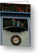 Xylophone Greeting Cards - Pied Piper at Frankenmuth Greeting Card by LeeAnn McLaneGoetz McLaneGoetzStudioLLCcom