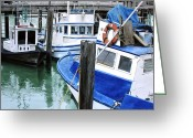 Photo-realism Painting Greeting Cards - Pier 39 Greeting Card by Denny Bond
