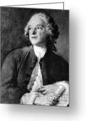 Caron Greeting Cards - Pierre-augustin Caron De Beaumarchais Greeting Card by Photo Researchers, Inc.