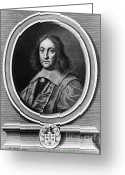 Curved Lines Greeting Cards - Pierre De Fermat, French Mathematician Greeting Card by Photo Researchers, Inc.
