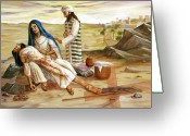 Pieta Painting Greeting Cards - Pieta Greeting Card by Dorothy Riley