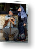 Rumi Greeting Cards - Pilgrims... Greeting Card by RicardMN Photography