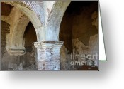 Spaniards Greeting Cards - Pillars Greeting Card by Bob Christopher
