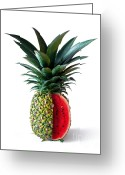 Compound Greeting Cards - Pinemelon 2 Greeting Card by Carlos Caetano