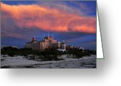 Oats Greeting Cards - Pink cloud Greeting Card by David Lee Thompson