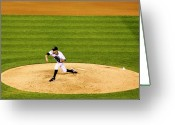 Mound Greeting Cards - Pitchin Pro Greeting Card by Marilyn Hunt