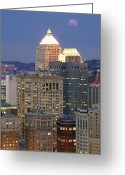 Mellon Arena Greeting Cards - Pittsburgh  13 Greeting Card by Emmanuel Panagiotakis