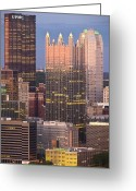 Mellon Arena Greeting Cards - Pittsburgh 19  Greeting Card by Emmanuel Panagiotakis