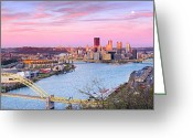 Sewickley . Greeting Cards - Pittsburgh Spring 2012 Greeting Card by Emmanuel Panagiotakis