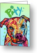 Dean Russo Art Painting Greeting Cards - Pity Greeting Card by Dean Russo