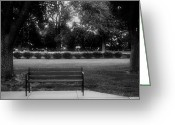 President Eisenhower Greeting Cards - Place In The Shade Greeting Card by Kathleen Struckle