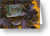 Rivet Greeting Cards - Plate 59 Greeting Card by Carlos Caetano