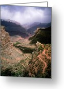 Estephy Sabin Figueroa Greeting Cards - Plateau Point Greeting Card by Estephy Sabin Figueroa