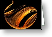 Colorful Photography Greeting Cards - Play With Fire Greeting Card by Karen M Scovill
