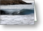 Pedro Cardona Greeting Cards - Playing With Waves 1 Greeting Card by Pedro Cardona