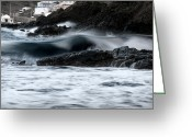 Pedro Cardona Greeting Cards - Playing With Waves 2 Greeting Card by Pedro Cardona
