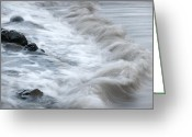 Pedro Cardona Greeting Cards - Playing With Waves 3 Greeting Card by Pedro Cardona
