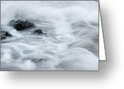 Pedro Cardona Greeting Cards - Playing With Waves 4 Greeting Card by Pedro Cardona
