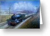 Great Painting Greeting Cards - Plymouth bound. Greeting Card by Mike  Jeffries
