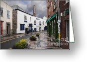 D700 Greeting Cards - Plymouth Gin Distillery Greeting Card by Donald Davis