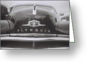 White Greeting Cards - Plymouth Greeting Card by Lynn-Marie Gildersleeve