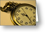 Victoria Wise Greeting Cards - Pocketwatch Greeting Card by Victoria Wise