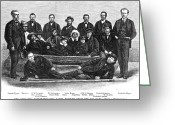 Polaris Greeting Cards - Polaris Survivors, 1873 Greeting Card by Granger
