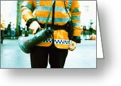 Police Officers Greeting Cards - Police Officer Greeting Card by Kevin Curtis