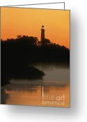 Intercoastal Greeting Cards - Ponce de Leon Inlet Lighthouse - FS000764 Greeting Card by Daniel Dempster