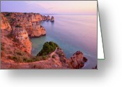 Da Greeting Cards - Ponta Da Piedade Sunrise Greeting Card by Monica and Michael Sweet