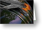 Automobile Hood Greeting Cards - Pontiac Greeting Card by Chris Lord