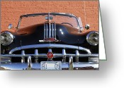 Antique Automobile Greeting Cards - Pontiac Convertible Greeting Card by Dennis Hedberg