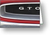 Street Digital Art Greeting Cards - Pontiac GTO  Greeting Card by Mike McGlothlen